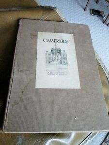 Cambridge, UK: A Sketch-Book by Walter M. Keesey, 1926