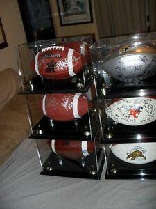Clear-out CFL & NFL signed Footballs + Memorabilia