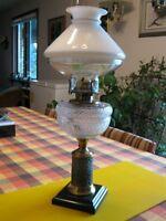 """Antique Oil Lamp - """"Composite"""""""