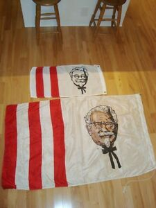 VERY RARE Kentucky Fried Chicken Flag From early 80's -Mint Kitchener / Waterloo Kitchener Area image 4