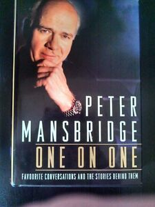 Signed Hardcover Copy of Peter Mansbridge's - ONE ON ONE
