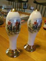 porcelain bar pulls  set of two
