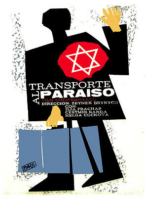 Transporte Al Paraiso Vintage Movie Poster. Graphic Design.art Decoration.3583