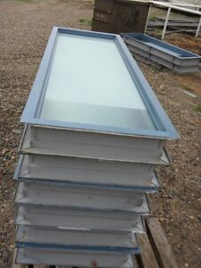 USED Metal Commercial Windows - $75.00 each FIRM ON PRICE
