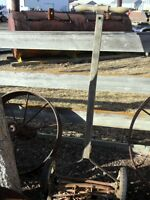 Vintage Wood Hand Mower $35.00 REDUCED TO CLEAR