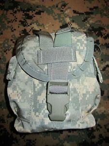 US Army ACU Canteen & Auxiliary SDS MOLLE II Pouch, New.