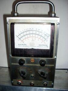 Multimetre RCA 195-A VoltOhmyst VTVM Voltmeter AF