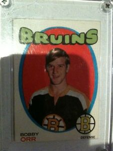 Eight Bobby Orr Hockey Cards Sealed