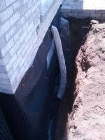 Waterproofing, Wet Basement, Only $ 75/ L.Ft **