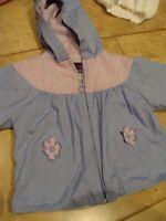 Carter's violet spring jacket - size 18 months
