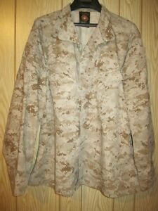 USMC Desert MARPAT Combat Jacket, Lightly Used. Large Short.