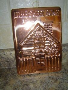 copper plaque / kitchen decor