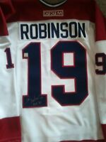 LARRY ROBINSON AUTOGRAPHED MONTREAL CANADIENS CCM JERSEY