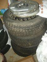 NEW winter  Kohmo tires