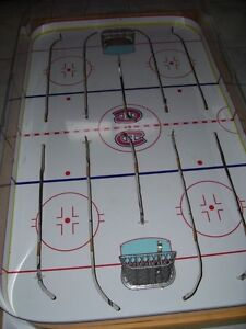 JEU DE HOCKEY TABLE HOCKEY GAME BOARD COLECO GAME ROOM