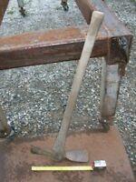 Antique mattock pick axe hoe