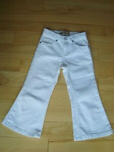 Childrens Place Girls White Jeans -Brand New Never Worn Spotless