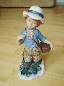 "Nadal Handcrafted Spanish Porcelain - Fisherwoman 11"" Kitchener / Waterloo Kitchener Area image 1"