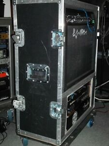 Amp Roadcase With 5 Space Rack Kitchener / Waterloo Kitchener Area image 2