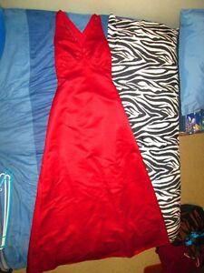 Cranberry Eden Maids Dress size 8