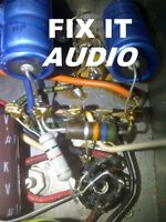 Audio amplifiers and Guitar Repair