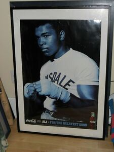 Ali Photo (2ft by 3ft) Skydome October 20, 2002+ Jays Bobblehead