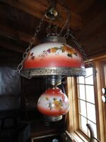***REDUCED PRICE***ANTIQUE STYLE HANGING LAMP