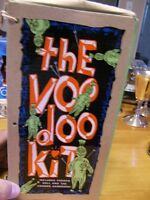 voodoo kit and book