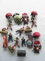 MCDONALDS DISNEY PIRATES DES CARAIBES LOT DE 18 figurines JOUETS