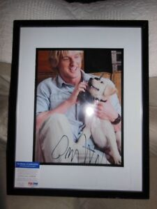 Owen Wilson Autograph Picture PSA/DNA Approved