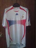 FRANCE Men's Adidas Soccer Jersey - Large
