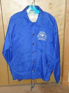 Brandon Curling Club nylon jacket, adult large - preowned