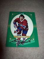 Montreal autograph hockey cards