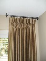 ALL ABOUT DRAPERIES...CUSTOM WINDOW TREATMENTS AND DRAPERIES.