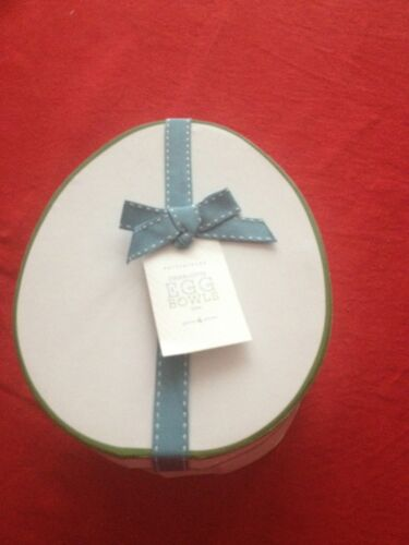 4pc Pottery Barn Charlotte Egg Plates In Box For Easter Spring