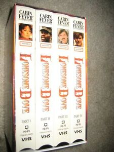 Lonesome Dove on VHS Windsor Region Ontario image 2