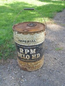 Vintage Imperial Oil Can