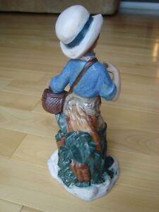 "Nadal Handcrafted Spanish Porcelain - Fisherwoman 11"" Kitchener / Waterloo Kitchener Area image 3"