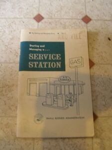 Starting and Managing a Service Station