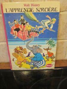 Vintage RARE  Walt Disney   L'apprentie   Sorcière  an 72 /poste