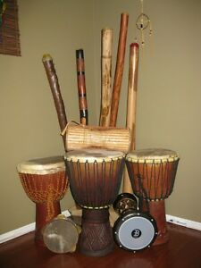 Djembe Drums & Didgeridoo sales, lessons and repairs