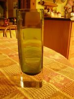 Lovely Green Glass Vase