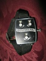 "UNIQUE GIFT! VINTAGE ""GOLFER'S PAL Original Wrist Scorer Golf"
