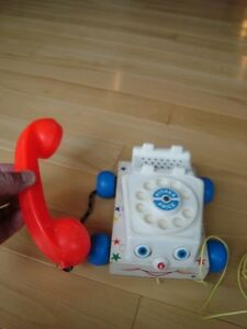 Vintage 1960's Fisher Price Chatter Telephone #747 Pull Toy Kitchener / Waterloo Kitchener Area image 4