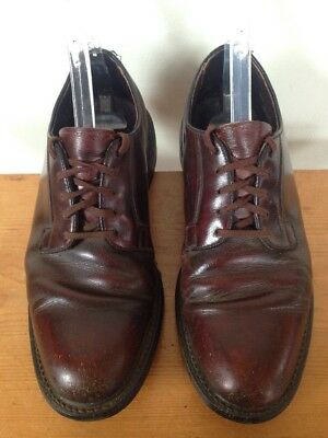 Vintage 50s Brown Leather Biltrite USA Union Made Mens Oxfords Dress Shoes 7.5D ](50s Shoes Mens)