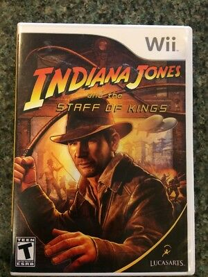 Staff Wii - Indiana Jones and the Staff of Kings (Nintendo Wii, 2009) SHIPS FREE