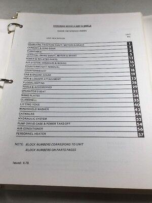 Koehring 466-e 466 Els Parts Catalog Manual