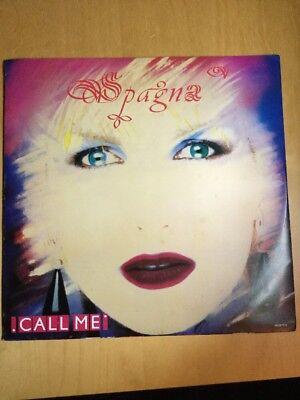 "Spagna - Call Me - 12"" Vinyl Single  - 650279 2.  1987"