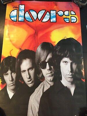 Vintage 1992 The Door Poster 34x23 Jim Morrison NOS