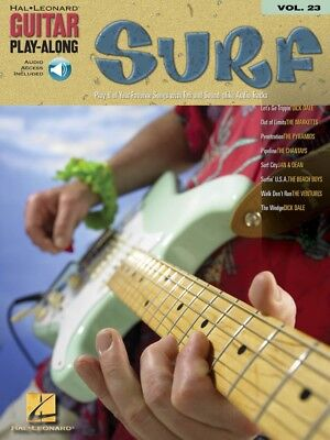 Surf Sheet Music Guitar Play-Along Book and Audio NEW 000699635